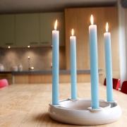 Advent kandelaar 4 lange kaarsen Goeters