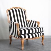 Klassieke fauteuil stofferen Beaujoura Goeters