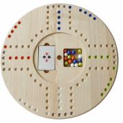 Massief-esdoorn-spelbord-handgemaakt-Keezen-Doggen-Halma-GOeters