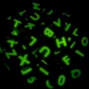 Lichtgevende letters in marmer bij Goeters (1)