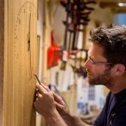 Meubelmaker Egbert jan Boerma vakman bij Goeters, EGthout meubelmakerij en vormgeving