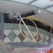Restauratie marmeren vloer Kasteel Haarzuilens