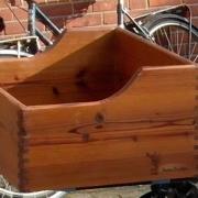Fietskrat van Modiwood, Scandinavische hout ecologisch verduurzaamd r (1)