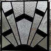 Zwartwit-helder-glas-in-lood-structuren-standaard-Goeters