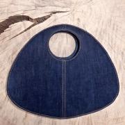 Handtas Schelp Upcycled van Jeans
