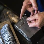 Handgemaakt-ooienvaars-schaartje-Antique-Stork-Goeters
