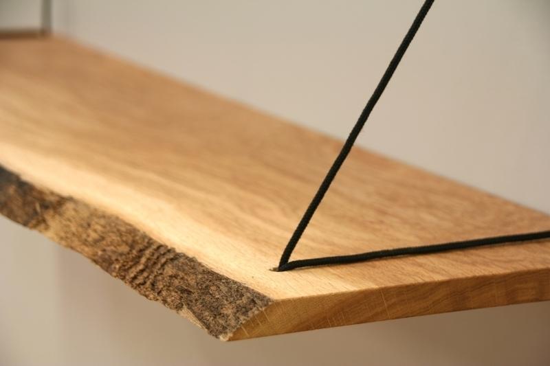 Hangplank sling uniek ophangsysteem voor wandplanken