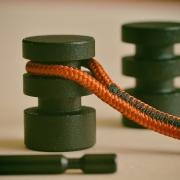Design wandhaak Sling set van 2 stuks incl bevestigingsmateriaal Goeters