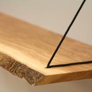 Wandplank met boomstamvorm Sling Slank 16mm Goeters