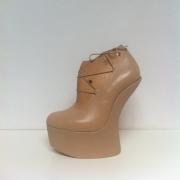 pump plateau ontwerp van ahndgemaakte schoen bij Goeters