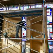 Glasinlood-restauratie-van-klooster-kapel-in-Driebergen-Goeters