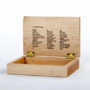 Herinneringskistje Goeters met maatwerk inscriptie