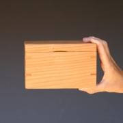 Klassiek kiste middelmaat hoog in kersenhout Goeters
