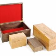 Klassieke klepkistjes in diverse maten en houtsoorten Goeters