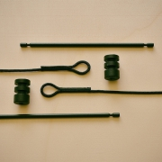 Hangplank Sling ophandsysteem met zwart koord Goeters