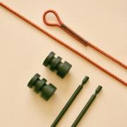 Hangplank Sling ophangsysteem meet rood koord Goeters