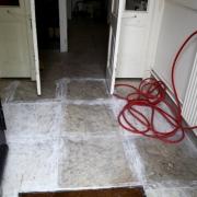 Restauratie van marmeren vloeren