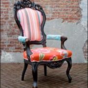 \'make over\' van een klassieke stoel