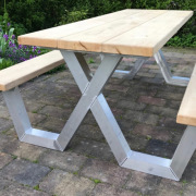 Picknicktafel-eiken-blad-aluminium-onderstel-Goeters