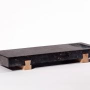 Sushi serveerplateau Belgisch hardsteen en hout Goeters (1)