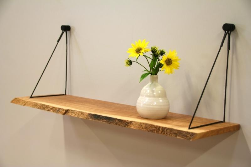 Wandplank 30 Cm Diep.Hangplank Sling Uniek Ophangsysteem Voor Wandplanken
