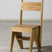 Trapstoel eiken
