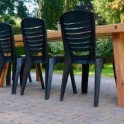 Tuintafel hout geschikt voor 8 stoelen Goeters