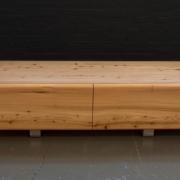 TV meubel ronde vormen in hout naar keuze Goeters