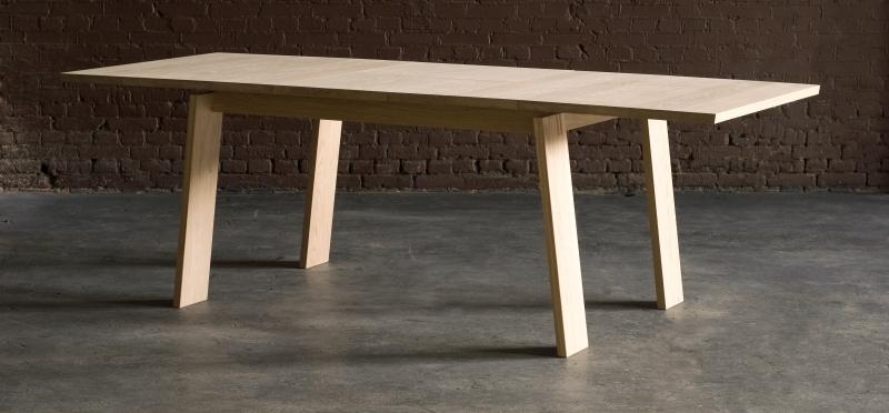 Eettafel Met Extra Blad.Eettafel Met Zwevend Blad Uitschuiffbaar Tot 2 Meter 40 Voor 8