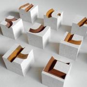 Fragmentum kistje van natuursteen Goeters