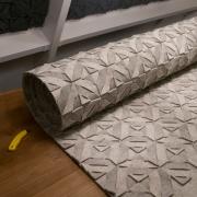 QVILT handgemaakte vloerkleden in natuurlijke kleuren Goeters