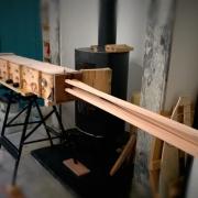 Stoombuigen van massief hout Goeters